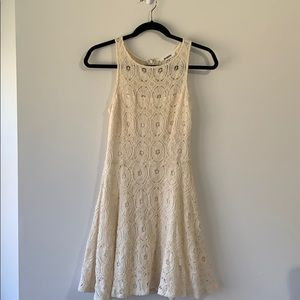 BB Dakota ivory lace dress